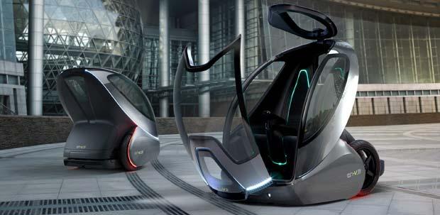 GM EN V 2 GM EN V Two Seat Electric Concept