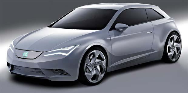 SEAT IBE Electric Concept Car