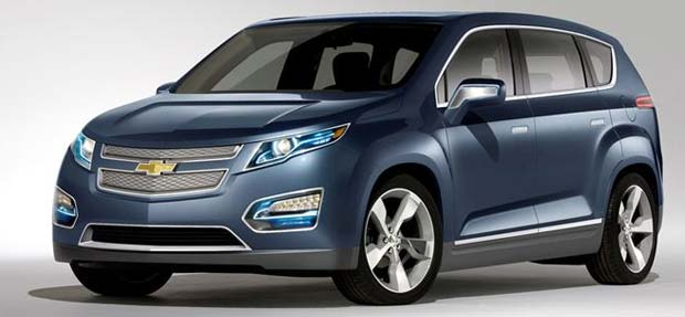 Chevrolet volt mpv5 electric concept for General motors annual report 2010