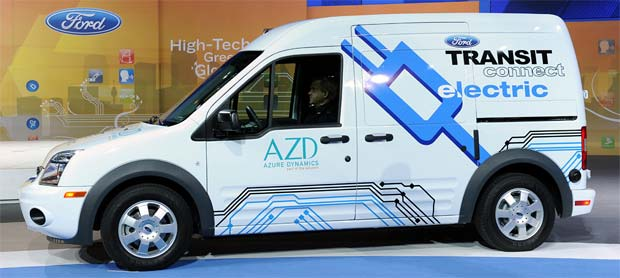 Transit Connect Electric Norwegian Post Adds Ford Transit Connect Electric Vans to Fleet