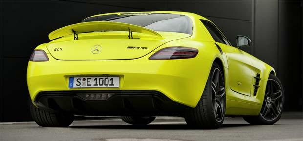 mercedes sls amg. Mercedes SLS AMG E CELL 2