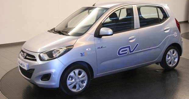 Hyundai BlueOn Hyundai Unveils BlueOn Electric Car