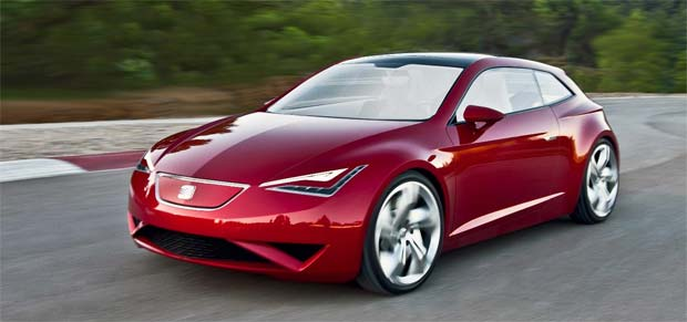 2010 Paris Motor Show: SEAT IBE Electric Concept