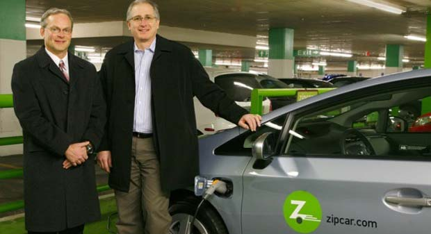 Zipcar Prius PHV Zipcar Adds Toyota Prius Plug In Hybrids to Fleet