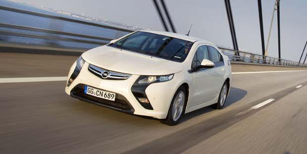 Production Opel Ampera Revealed