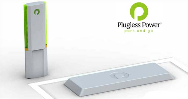 Plugless Power Google Testing Plugless Electric Car Charger