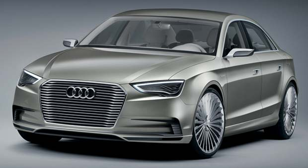 A3 E tron Audi A3 e tron Concept: Shanghai Auto Show