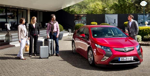 Europcar to Rent Opel Ampera EVs in Europe