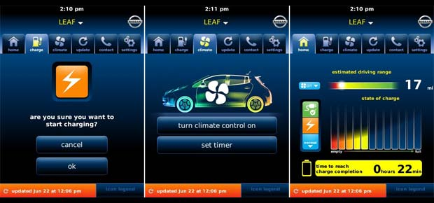 Nissan leaf app login