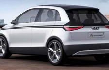 Audi Releases First Photos of Electric A2 Concept