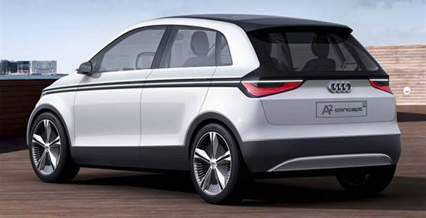 A2 Concept Audi Releases First Photos of Electric A2 Concept