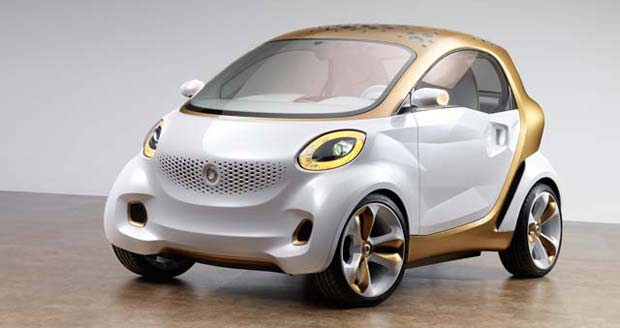 2011 Frankfurt Show Preview: smart forvision concept
