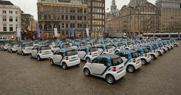To Go Electric In Amsterdam