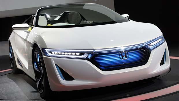 Honda EVSTER Electric Roadster Concept 2011 Tokyo Motor Show