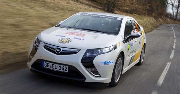 Opel Ampera Wins Monte Carlo Rally