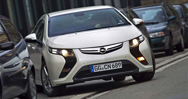 Opel Says Ampera was Europe's No.1 EV in May