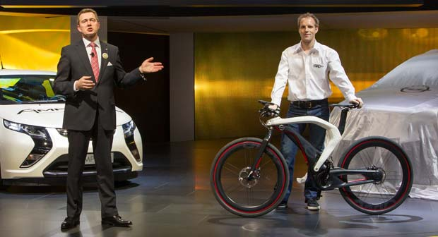 Opel RAD e bike Unveiled in Geneva