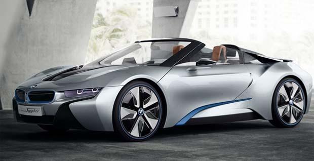 BMW i8 Concept Spyder Revealed
