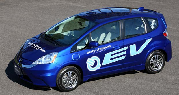 2013 Honda Fit EV Rated at 118 MPGe Combined