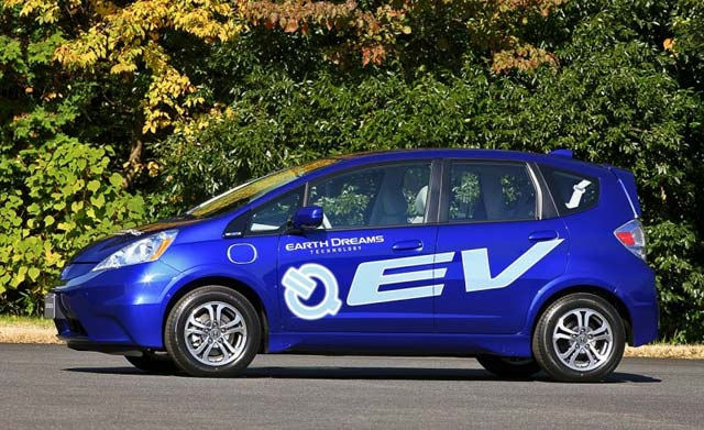 2013 honda fit battery electric vehicle for Honda fit electric