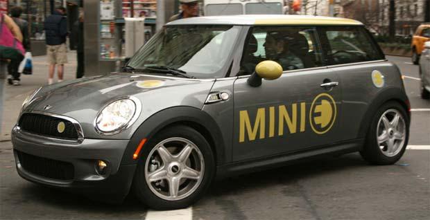 Bmw Delivers Mini E Electric Cars In Mexico City