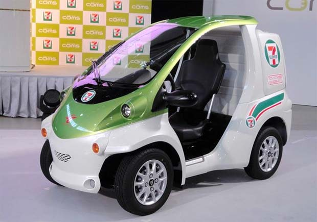 Seven eleven to use toyota coms evs for deliveries - Coiffeuse adulte pas cher ...