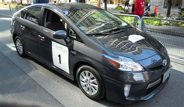 Toyota Wins Rallye Vert de Montréal with Prius Plug-in Hybrid