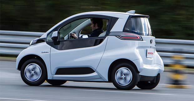 Honda Reveals Micro Commuter Prototype