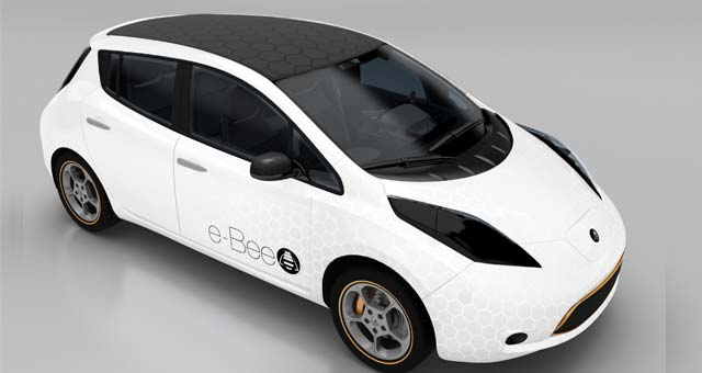 Visteon To Showcase E Bee Vehicle Concept At 2013 Ces