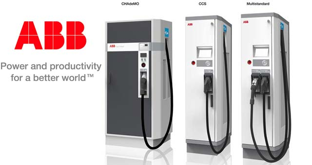 ABB Pass Certification for Multi Standard EV Fast Chargers