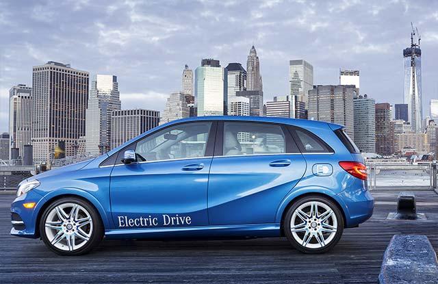 Mercedes benz b class electric drive electric cars report for Mercedes benz b class electric car