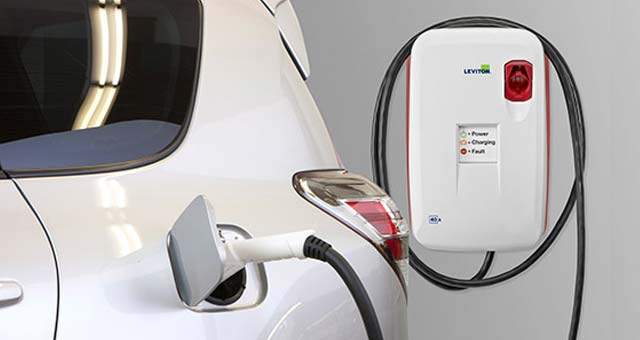 Leviton Unveils Evr-Green 320 Level 2 Charging Station
