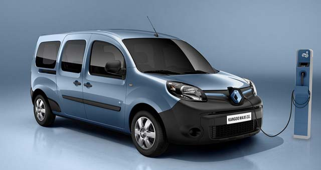 new renault kangoo ze priced at 13 000 euros in france. Black Bedroom Furniture Sets. Home Design Ideas