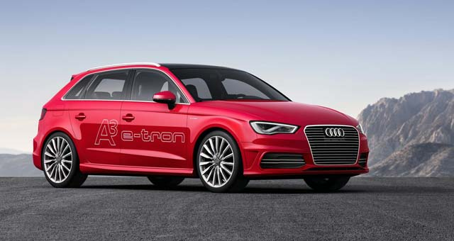 Audi A3 e-tron UK Pricing Announced