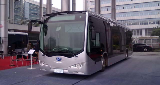 BYD Electric Bus Approved for Sales in Canada