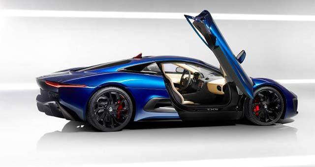 New Images of the Jaguar C X75 Supercar