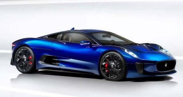 Jaguar has revealed new images of its Jaguar C X75 range extended