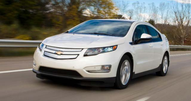2015 Chevrolet Volt Wins Kelley Blue Book 'Electric/Hybrid ' Award