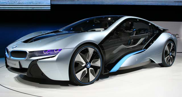 BMW i8 Top 7 Plug in Electric Cars For 2014