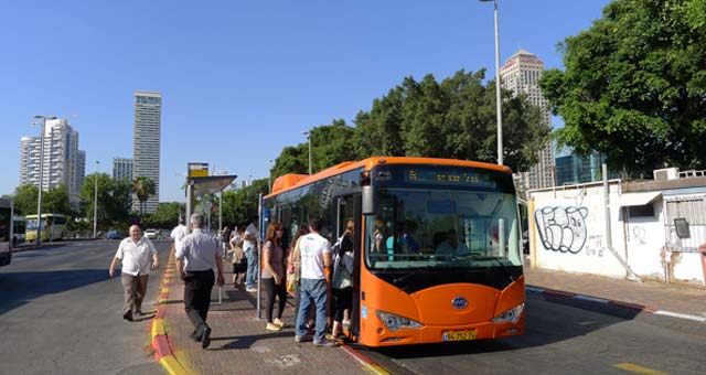 First Byd Electric Buses Coming To Israel