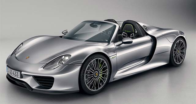 electric cars report porsche 918 spyder unveiled in production form. Black Bedroom Furniture Sets. Home Design Ideas