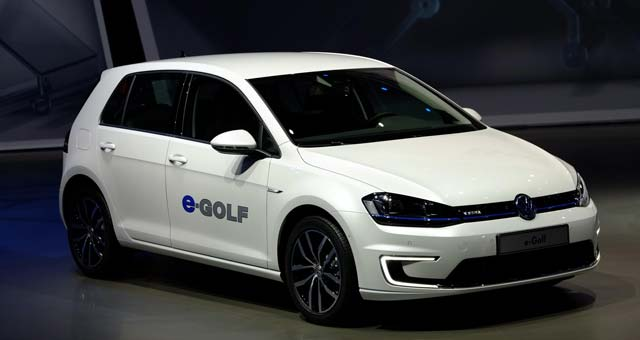 e Golf Top 7 Plug in Electric Cars For 2014