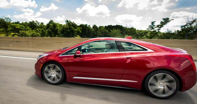 2014 Cadillac ELR Top 7 Plug in Electric Cars For 2014