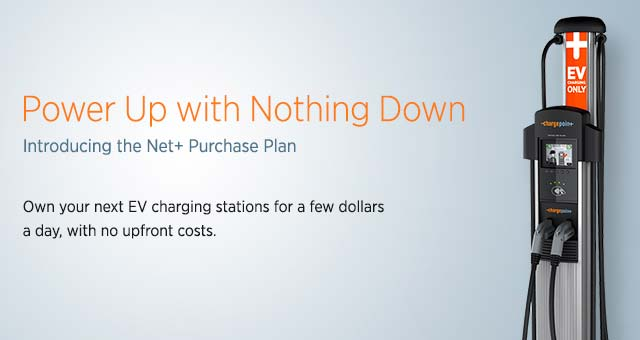 ChargePoint lease ChargePoint Announces New Financing Program to Spur Installation of EV Chargers