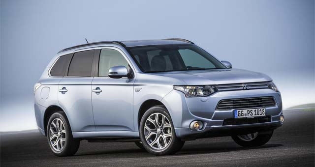 Outlander PHEV Now Able to Supply V2H Power