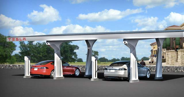 Tesla officially opens west coast supercharger corridor for West coast electric motors