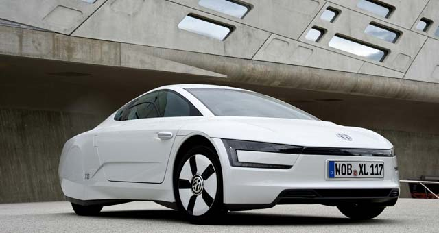 Volkswagen XL1 Top 7 Plug in Electric Cars For 2014