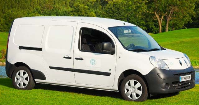 Symbio FCell Launches Hydrogen-Powered Renault Kangoo ZE Utility Vehicles