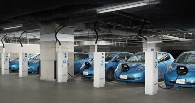 Nissan Begins Testing Energy Supply and Demand Management System Using LEAF to Home Power System