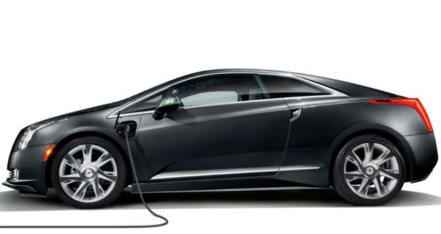 Free Charging Station With Cadillac ELR Extended To Canada